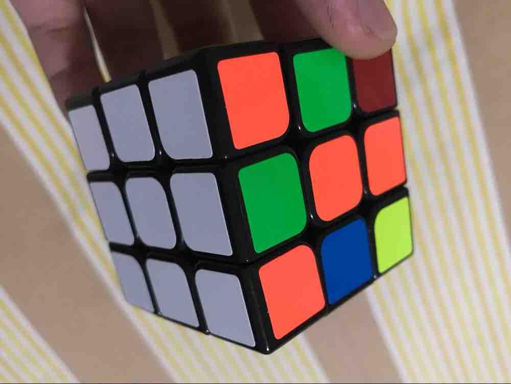 5.三阶魔方入门玩法第三步-第一层