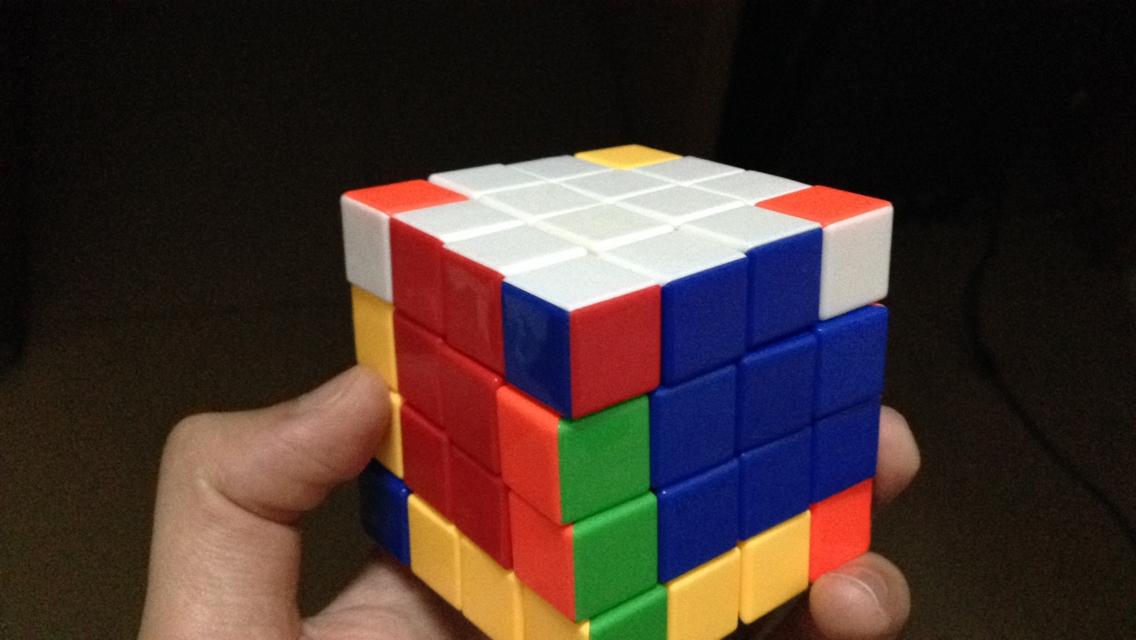 魔方小站4阶魔方四阶魔方玩法视频教程6